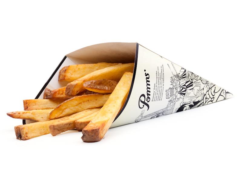 Pomms biologische friet